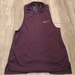 Nike Purple Dri Fit Sleeveless Top
